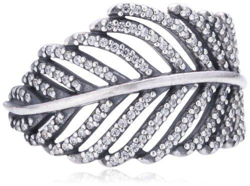 Pandora 190886cz-56 anello in argento con zircone, donna, taglia 16