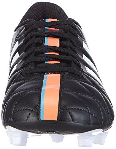 Adidas Performance 11 Questra Fg, Football Entrainement Homme Nero (Core Black/Ftwr White/Flash Orange S15)