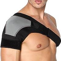Libertepe Verstellbare Schulterbandage für linke und rechte Schulter Unisex für Frauen & Männer passt links oder rechts Schulter