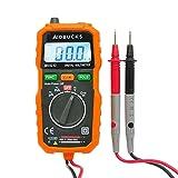 Digital Multimeter Aidbucks MS8232 Spannungsprüfer Spannung Strom Widerstand durchgangsprüfer spannungsmesser True RMS Kapazität Frequenz Celsius und 2 Messleitungen