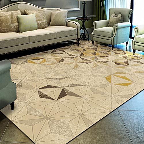 jasmineXDLstore alfombras dormitorioAlfombra Moderna para Sala de Estar en Varios tamaños, a,...
