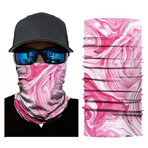Wokee Bedrucktes Face Shields Multifunktionstuch Bandana Gesichtsmaske Sturmhaube,Maske fürs Motorrad,Fahrrad,Ski Snowboard Snowboard Halloween (E)