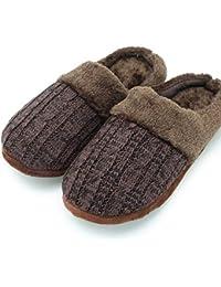 CityComfort Pantofole per Uomo e Donna in Memory Foam con Pelliccia  Sintetica Ciabatte Unisex Invernali 7976eba6d2c