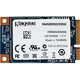 Kingston SSDNow - Disco duro sólido interno mSATA de 240 GB (6 Gbps)