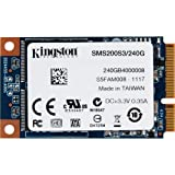 Kingston SMS200S3 Disque Flash Interne SSD 240 Go USB 2.0 Noir