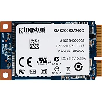Kingston SSDNow - Disco Duro sólido Interno mSATA de 240 GB (6 ...