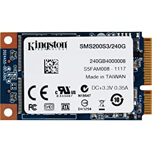 Kingston SMS200S3 Disque Flash Interne SSD 240 Go USB 2.0 Noir