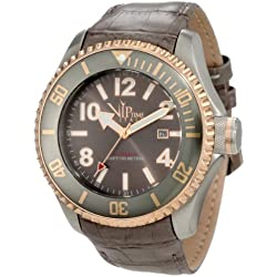 Vip Time Italy Men's VP5031GY Magnum Mechanical Watch