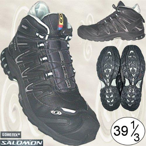 SALOMON XA PRO 3D ULTRA GORE-TEX Sportschuhe schwarz GR. 39,5 [Laufschuhe, Gr. UK 6, USA 7,5 - JAPAN 24.5, EUR 39 1/3 ]