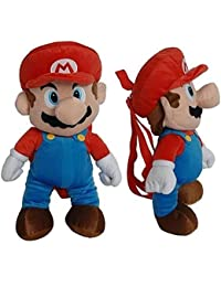 """Super Mario 13"""" Plush School Backpack For Kids Age 3+"""