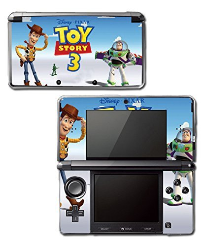 Toy Story 1 2 3 4 Buzz Lightyear Woody Video Game Vinyl Decal Skin Sticker Cover for Original Nintendo 3DS System by Vinyl Skin Designs