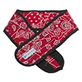 Aqua Coolkeeper Kühlendes Halstuch für Hunde - Red Western (Gr. L 33-43cm x 6cm)