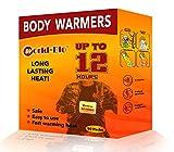 WORLD-BIO Scaldamuscoli Crampi mestruali Cuscinetti riscaldanti con Supporto Adesivo, cerotti Naturali Caldi Danno 8 Ore di Calore - 10 Confezioni