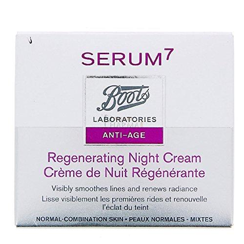 BOOTS Serum 7 Primeras Arrugas Crema Noche Regeneradora