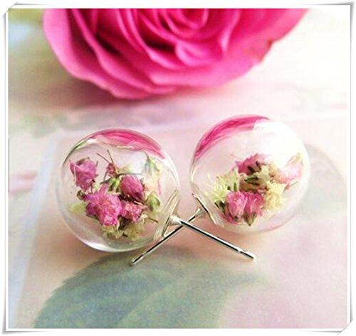 real-flores-secas-pendientes-rosa-y-blanco-flores-flores-real-de-joyeria