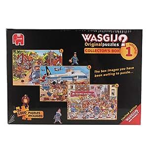 Wasgij – Original – Collector's Box – 3 Puzzles 1000 Pièces