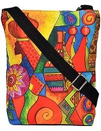 All Things Sundar Womens Sling Bag / Cross Body Bag - S06 - 17