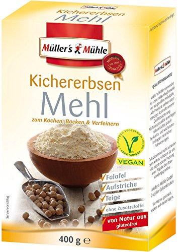 Müllers Mühle Kichererbsen Mehl 400g