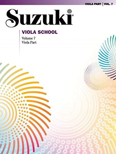 Suzuki Viola School Viola Part, Volume 7