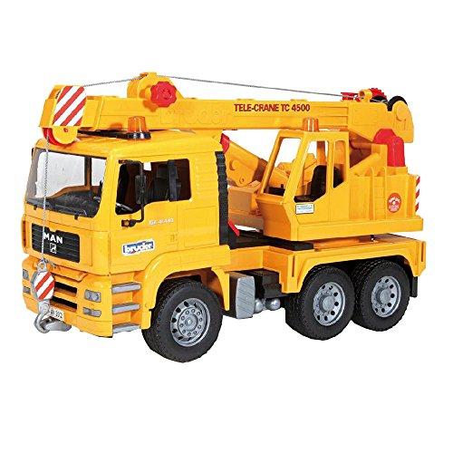 Image of Bruder 02754 MAN Crane Truck