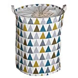URIJK Wäschekorb Schmutzige Kleidung Korb Faltbare Wasserdichte Ablagekorb Kind Spielzeugkorb Kleidung Wäschesammler