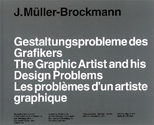 ~The Graphic Artist and His Design Probl...