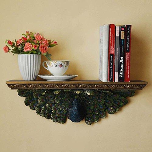Flashing- Südost-Asiatischen Stil Harz Material Regal Wand hängend Pflanze Stehen/schwimmende Regal/Bücherregal, Wohnzimmer Schlafzimmer Blumen-Racks TV Kulisse Regal (größe : 53 * 12.5 * 18cm) (Asiatisches Bücherregal)
