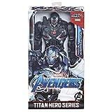 Marvel Avengers – Figurine Marvel Avengers Endgame Titan Deluxe – War Machine - 30 cm - Jouet Avengers