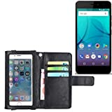 K-S-Trade Wallet case Flip cover for Allview P7 Lite with