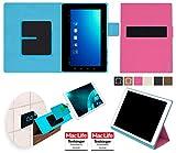 reboon Hülle für Blaupunkt Endeavour TV Seven Tasche Cover Case Bumper | in Pink | Testsieger
