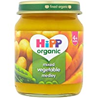 HiPP Organic Stage 1 From 4 Months Mixed Vegetable Medley 6 x 125 g (Pack