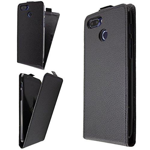 caseroxx Hülle/Tasche Flip Cover passend für Archos Core 60s, Schutzhülle (Handytasche klappbar in schwarz)
