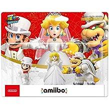 Amiibo 'Collection Super Mario' - Bowser+Mario+Peach (Tenues de mariage)