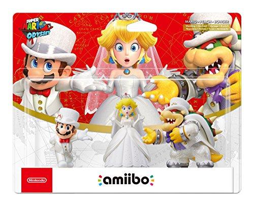 Amiibo Bowser Mario Peach Tenues de mariage