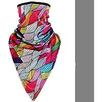 Bandeau sans couture extérieur Masque facial Écharpe Bandeau Microfibre Polyester Multifonctionnel sans couture Chapeaux