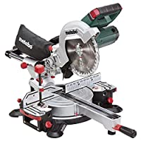 Metabo 619001850 KGS18 LTX 216 18 V Cordless Sliding Mitre Saw - Green