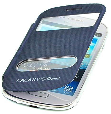 Phone Star Coque à rabat avec fenêtre pour Samsung Galaxy S3Mini I8200