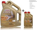2x 1 L + 5 L = 7 Liter Castrol Edge Titanium FST™ 5W-30 C3 Motor-Öl Motoren-Öl; Spezifikationen/Freigaben: ACEA C3; API SN/CF; BMW Longlife-04; dexos2®; MB-Freigabe 229.31/ 229.51; Renault RN 0700 / 0