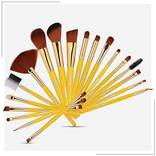 Makeup Brushes,Professionnelle Kits ,Maange 19 X Pinceau Maquillage Pinceau Fond De Teint Poudre Fond De Teint Poudre DisperséE Makeup Brushes Brush Beauté Maquillage