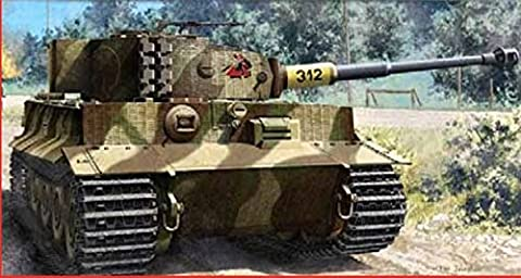 ACADEMY ACD13314 TIGER I LATE VERSION (INCLUDE FOTOINCISIONI) KIT 1:35