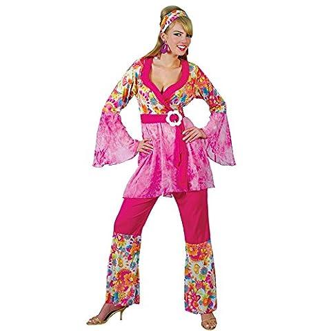 Austin Powers Costumes Pour Les Femmes - Déguisement ensemble hippie pour femme avec une