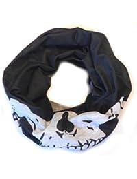 PRESKIN - multifunctional cloth used as headwear, head scarf, neck scarf, balaclava, headband, wrist warmers, hat, bandana, scarf, loop, headband, neck gaiter, pirate scarf, skirt or belt on the head, neck or arm