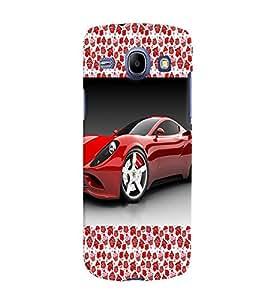 Fuson 3D Printed Car Designer back case cover for Samsung Galaxy Core I8262 / I8260 - D4176