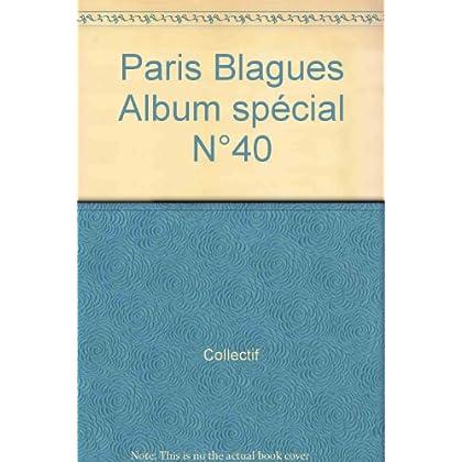 Paris Blagues Album spécial N°40