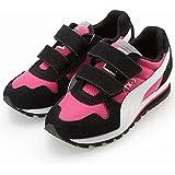 Boys PUMA FERRARI Trainers Drift Cat Kids Shoes Leather Velcro Toddlers Casual 906