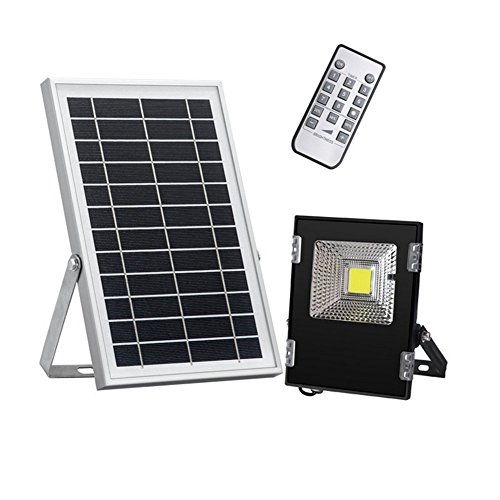 OOFAY LIGHT® LED Solar Flutlicht Sicherheitsbeleuchtung IP65 Wasserdicht Außenbeleuchtung Für Yard Garden Garage Treppenhaus Torwand