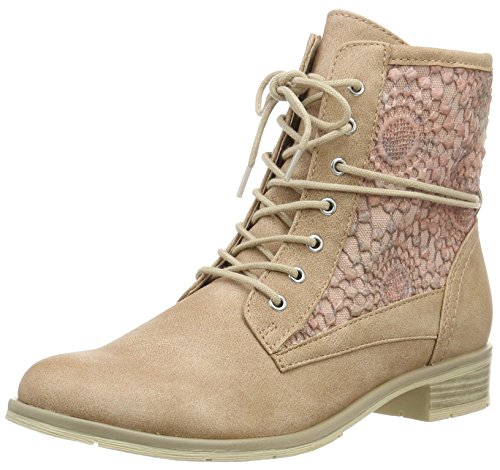 Marco Tozzi 25101, Bottes Rangers Femme Rose (Candy Comb 519)