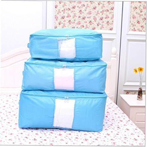 Oxford Tuch abwaschbar täglich Familie Produkte Turquoise Haushalt s Quilt Tasche vertraut Artikel des täglichen Gebrauchs (blau) (Tasche Quilt)