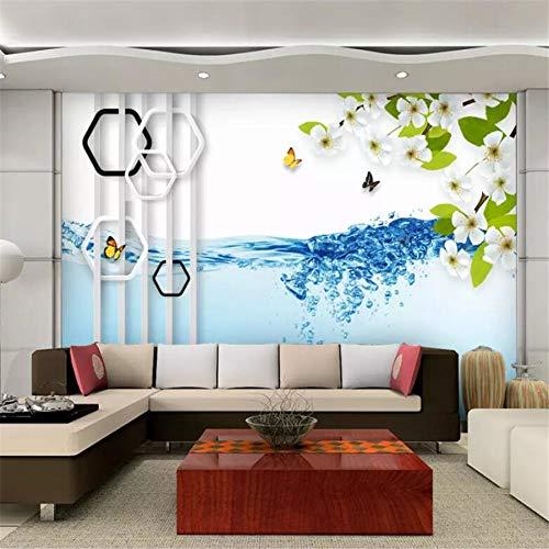 Papier peint personnalisé 3d murale cadre moderne minimaliste...