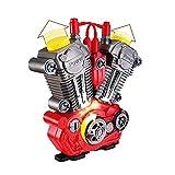 Zantec Giocattolo del motore del motociclo Simula la revisione del motore del motociclo Set di giochi con il kit di giocattoli educativi per bambini
